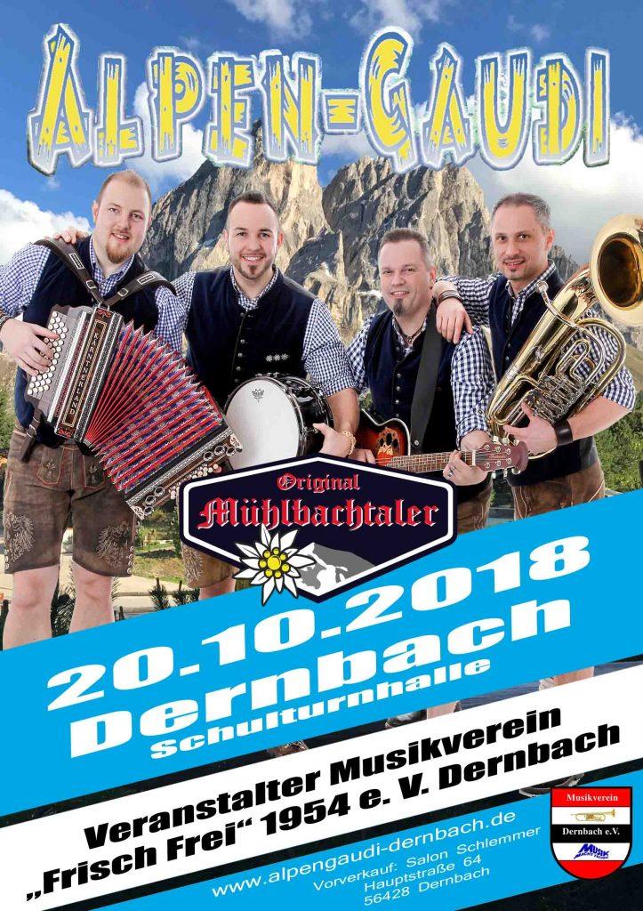 Alpengaudi Plakat